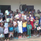SBA children holding activity books