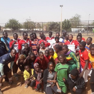 Rugby matches in Mali