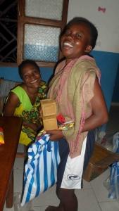 Distribution au centre de Bafia