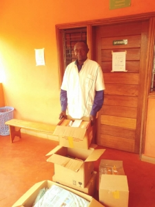 Medicines received in Bangangté