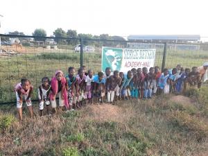 Filles du programme éducation de la SBA Mali