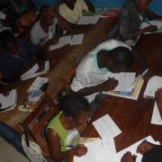 Jeunes de Bafia en révisions