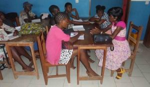 Les jeunes de Bafia travaillent