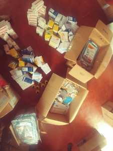 Donation of medicines from the DROP