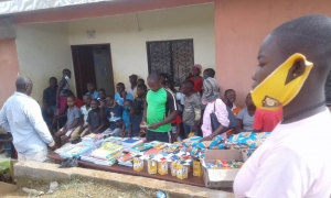ceremony distribution in Zoetele