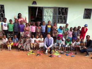 Visite de M. Olivier Cadic à Yaoundé