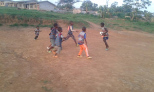 Rugby for Kids training