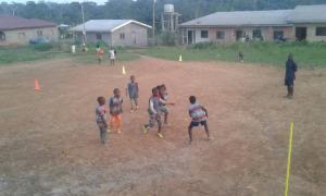 Rugby pour les tout-petits