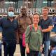 Arrivée du board à l'aéroport de Bamako