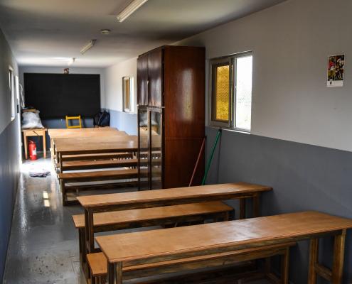 Intérieur salle de classe