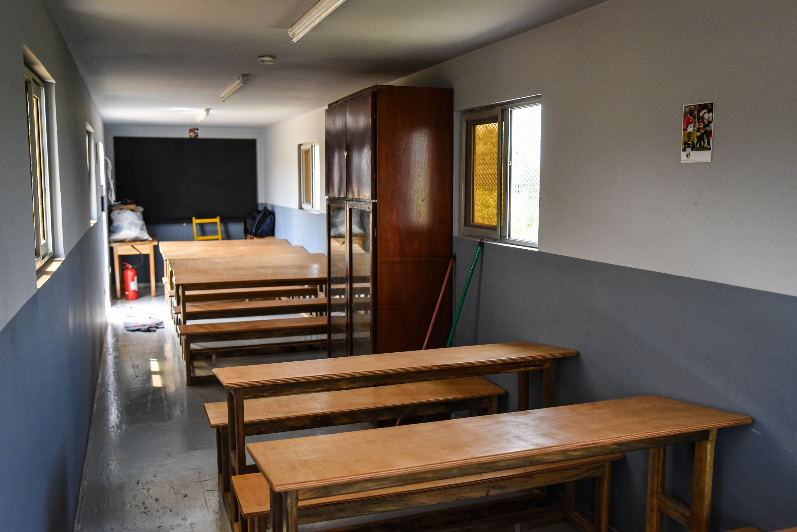 Inside of the after-school room