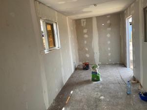 Inside - After-School tutoring room in construction