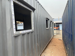 After-School tutoring room in construction