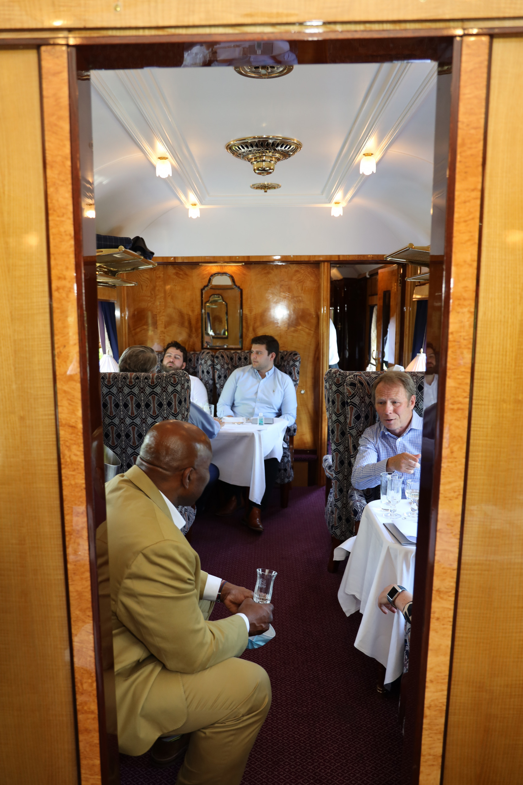 SA Preview Lunch aboard the train
