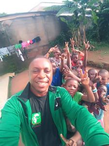Djibril et les enfants